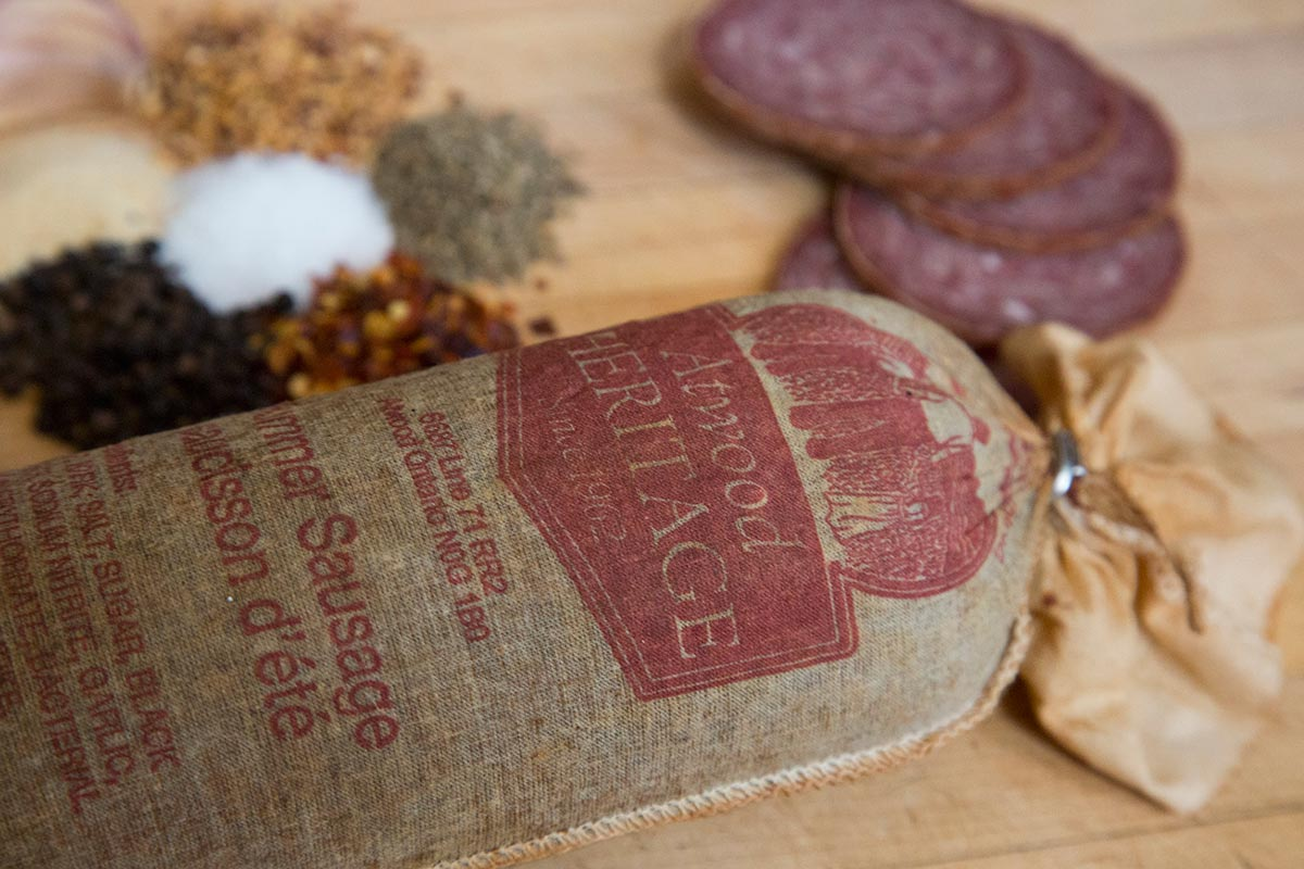 Atwood Heritage - Summer Sausage Closeup